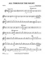 All Through The Night - Violin 1 Sheet Music