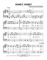 Honey, Honey Sheet Music