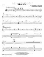 Silver Bells - Drums Sheet Music