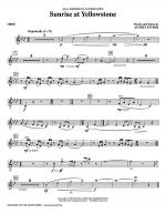 Sunrise At Yellowstone - Oboe Sheet Music