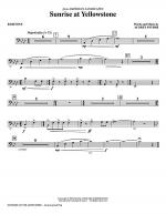 Sunrise At Yellowstone - Baritone Sheet Music