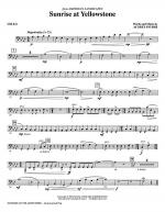 Sunrise At Yellowstone - Cello Sheet Music
