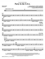 Party In The USA - Percussion Sheet Music