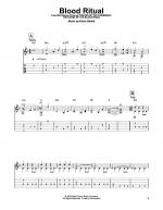 Blood Ritual Sheet Music
