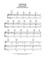 Cold Song Sheet Music