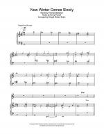 Now Winter Comes Slowly Sheet Music
