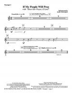 If My People Will Pray (with Hear Our Prayer, O Lord) - Bb Trumpet 1 Sheet Music