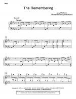 The Remembering - Harp Sheet Music