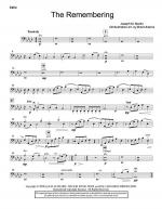 The Remembering - Cello Sheet Music