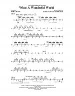 What A Wonderful World - Drums Sheet Music