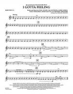 I Gotta Feeling - Baritone T.C. Sheet Music