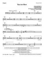 You Are Here (incorporating Doxology) - Timpani Sheet Music