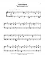 Green Onions Sheet Music