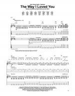 The Way I Loved You Sheet Music