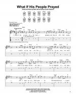 What If His People Prayed Sheet Music