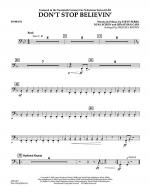 Don't Stop Believin' - Timpani Sheet Music