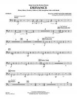 Music from Defiance - Timpani Sheet Music