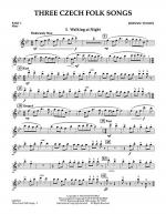 Three Czech Folk Songs - Pt.1 - Flute Sheet Music
