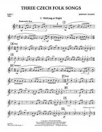 Three Czech Folk Songs - Pt.1 - Oboe Sheet Music