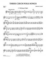 Three Czech Folk Songs - Pt.2 - Violin Sheet Music