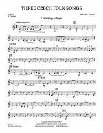Three Czech Folk Songs - Pt.3 - Bb Clarinet Sheet Music