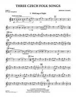 Three Czech Folk Songs - Pt.3 - Bb Tenor Saxophone Sheet Music