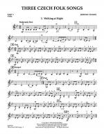 Three Czech Folk Songs - Pt.3 - Violin Sheet Music