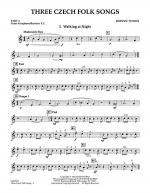 Three Czech Folk Songs - Pt.4 - Bb Tenor Sax/Bar. T.C. Sheet Music