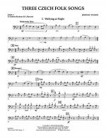 Three Czech Folk Songs - Pt.4 - Trombone/Bar. B.C./Bsn. Sheet Music