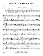 Three Czech Folk Songs - Pt.4 - Cello Sheet Music
