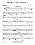 Three Czech Folk Songs - Pt.5 - Bb Bass Clarinet Sheet Music