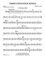 Three Czech Folk Songs - Pt.5 - Trombone/Bar. B.C./Bsn. Sheet Music