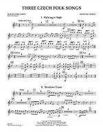 Three Czech Folk Songs - Mallet Percussion Sheet Music