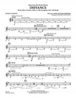 Music from Defiance - Bb Bass Clarinet Sheet Music