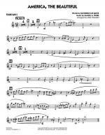 America, The Beautiful - Tenor Sax 2 Sheet Music