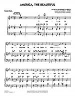 America, The Beautiful - Piano/Vocal Sheet Music