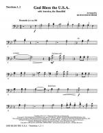 God Bless The U.S.A (with America, The Beautiful) - Trombone 1, 2 Sheet Music