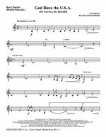 God Bless The U.S.A (with America, The Beautiful) - Ten Sax, Bar. Sax (Tbn 1,2 sub Sheet Music