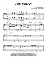 Jump For Joy Sheet Music