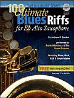 100 Ultimate Blues Riffs for Eb instruments, Beginner Series Sheet Music