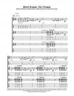 Mind Eraser, No Chaser Sheet Music