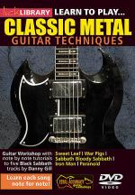 Learn to Play Classic Metal Sheet Music