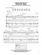 Electric Eye Sheet Music