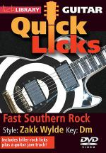 Fast Southern Rock - Quick Licks Sheet Music