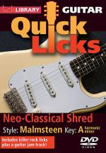 Neo-Classical Shred - Quick Licks Sheet Music