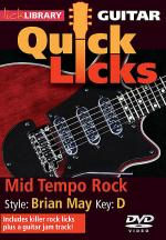 Mid Tempo Rock - Quick Licks Sheet Music