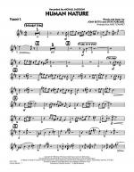Human Nature - Trumpet 2 Sheet Music