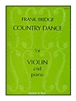 Three Pieces for Violin and Piano, Country Dance Sheet Music