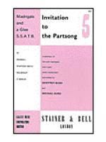 Invitation to the Partsong Book 5 Sheet Music