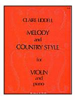 Melody and Country Style for Violin and Piano Sheet Music